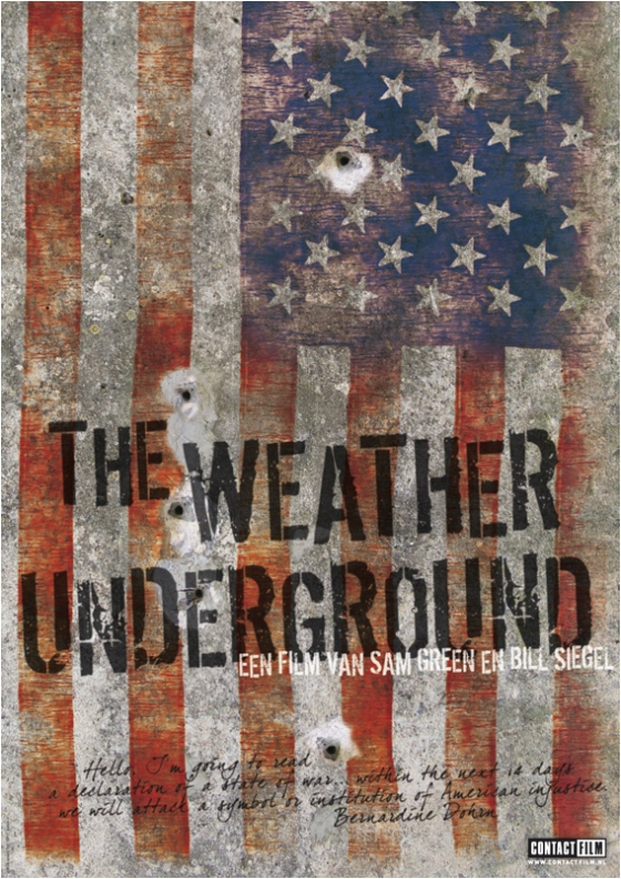 affiche The Weather Underground (ContactFilm)