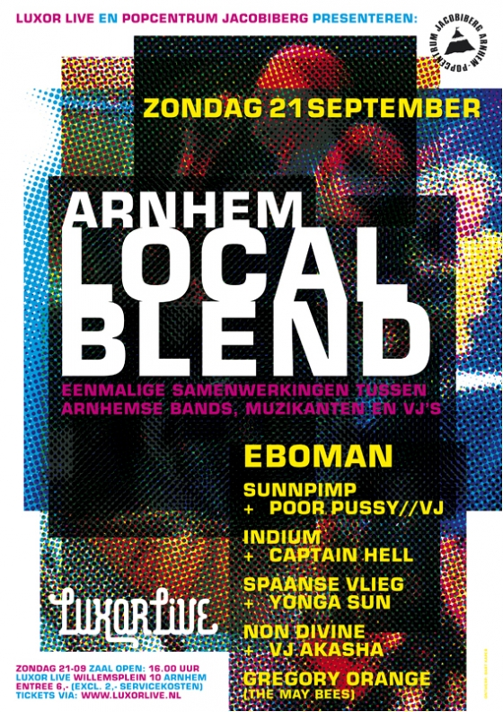 affiche Local Blend (LuxorLive/Jacobiberg)